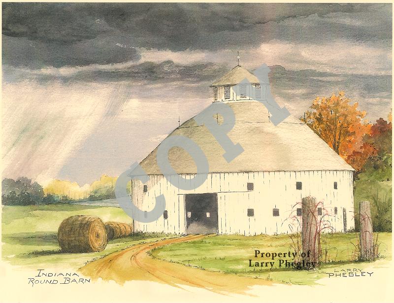 Indiana Round Barn