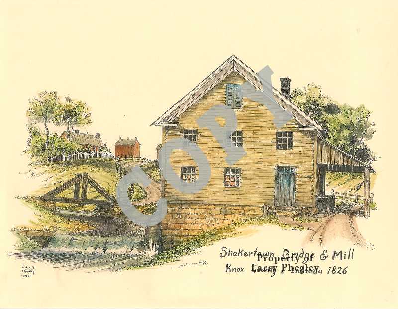 Shakertown Bridge and Mill
